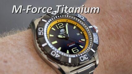 Orient Watch SDV01002B0 M-Force Beast Titanium Automatic Mechanical Men's Watches