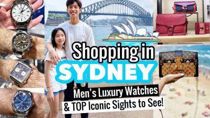 SYDNEY SHOPPING - LUXURY MEN'S WATCHES