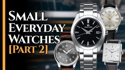 Small Watches Men's Watches For Small Wrists (under 38 mm)