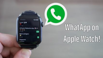 How do I connect my Apple Watch to WhatsApp?
